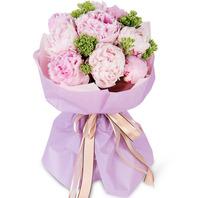 핑크톤꽃다발510k