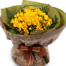 후리지아꽃다발(봄판매상품)