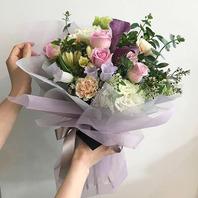 카네이션 꽃다발 大 +코사지2개
