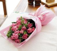 핑크팬더 꽃다발