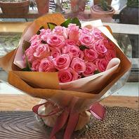 핑크핑크꽃다발